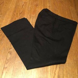 Banana Republic Sloan Fit Black pants - size 10P